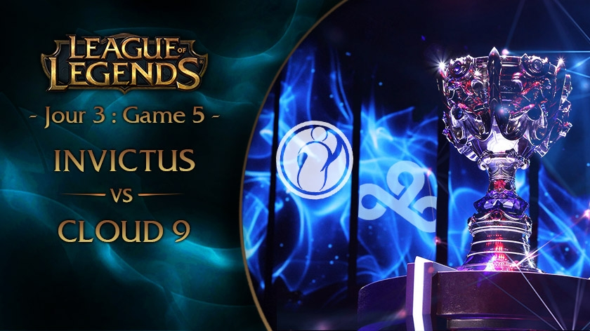 Jour 3 : Game 5 iG vs C9