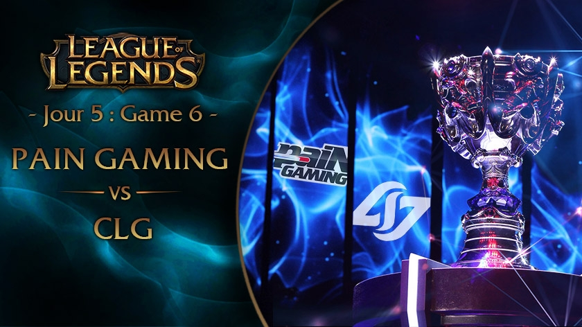 Jour 5 : Game 6 paiN Gaming vs CLG