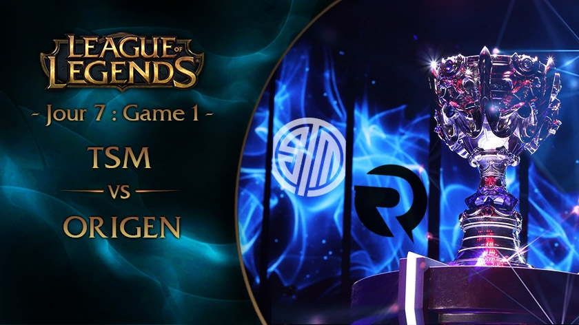 Jour 7 : Game 1 TSM vs OG