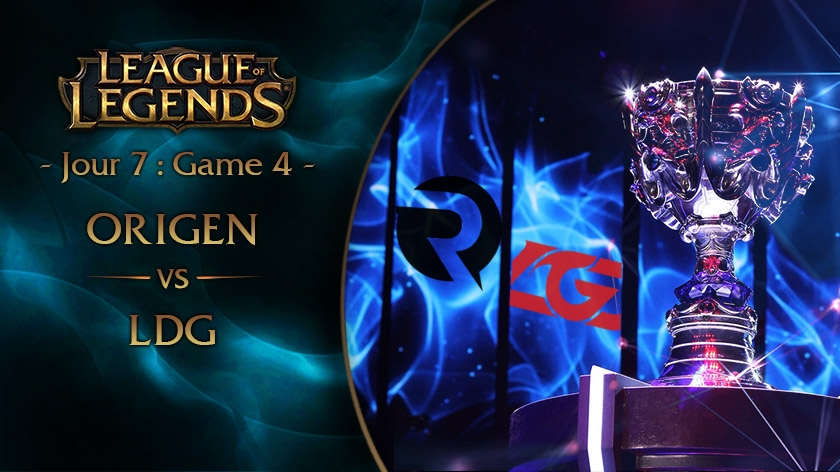 Jour 7 : Game 4 OG vs LGD