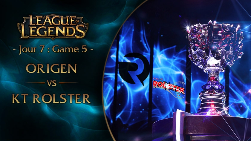 Jour 7 : Game 5 OG vs KT