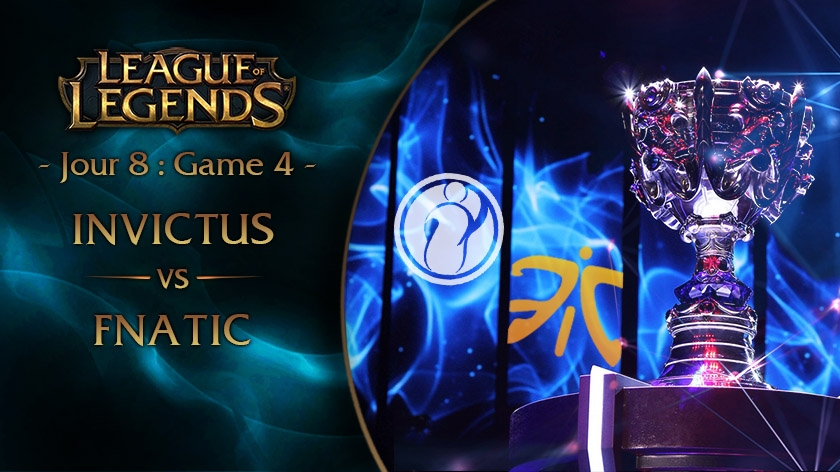 Jour 8 : Game 4 IG vs FNC