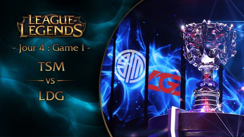 Jour 4 : Game 1 TSM vs LGD