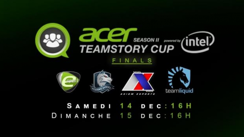 L'Acer Team Story Cup sur O'Gaming
