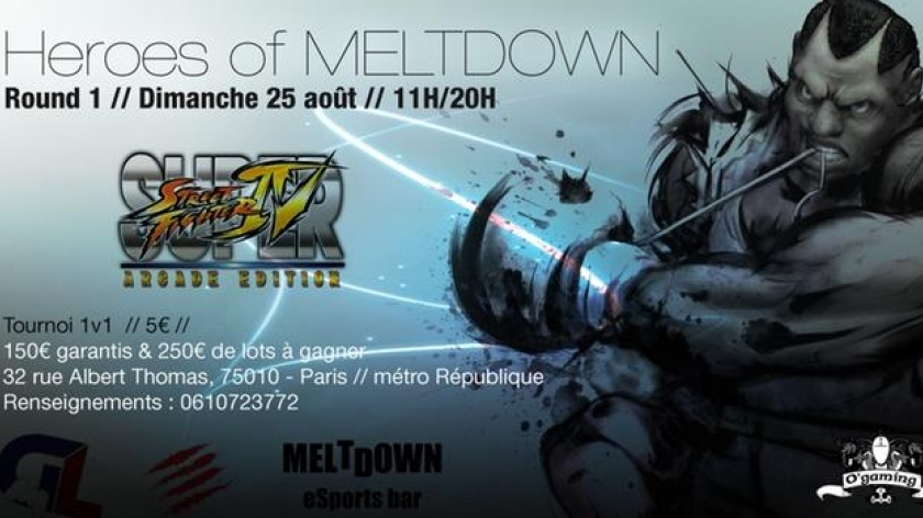 Street Fighter s'installe au Meltdown