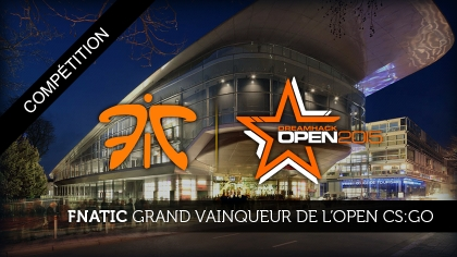 Fnatic grand vainqueur de l'Open CS:GO
