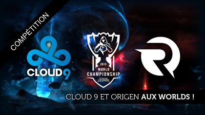 Origen et Cloud9 iront aux Worlds 2015 !