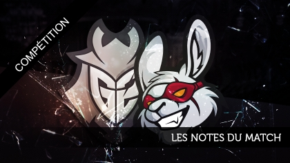 Misfits - G2 : les notes du match