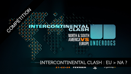 Intercontinental clash : EU > NA ?