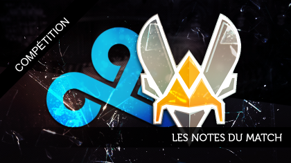 Vitality - Cloud9 : Les notes du match