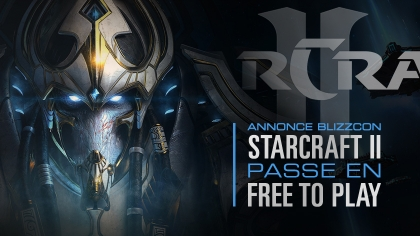 Starcraft II s'ouvre au free-to-play