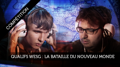 Qualifications WESG : la bataille du Nouveau Monde