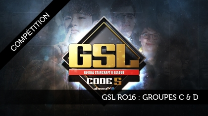 GSL Ro16 : Groupes C & D
