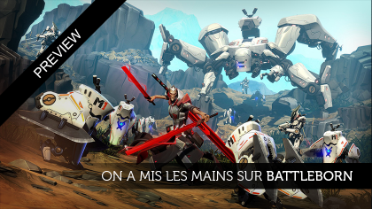 On a mis les mains sur BattleBorn !