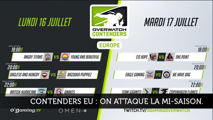 Contenders Europe :on attaque la mi-saison !
