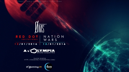 Red Dot Invitational : Rendez-vous à l'Olympia !