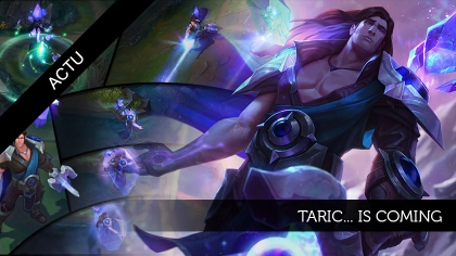 Taric... is coming