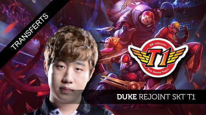 Duke rejoint SKT T1