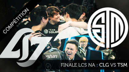 Finale LCS NA : Counter Logic Gaming vs Team Solo Mid