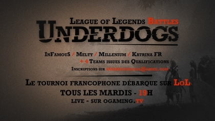 Underdogs : le tournoi continue !