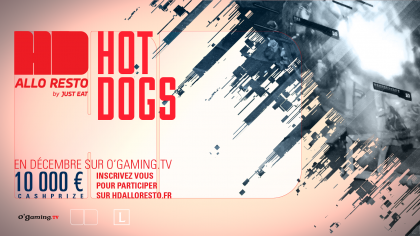HotDogs Alloresto by Just Eat : Les finales sur OGTV !