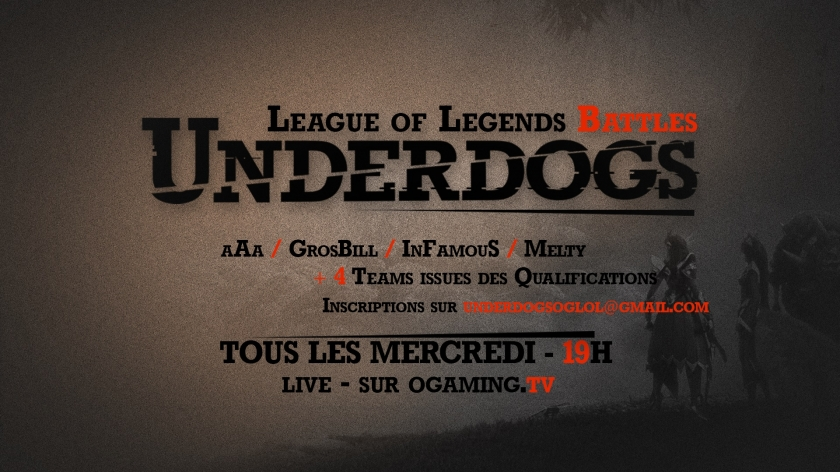 Underdogs LoL : Season 2 is coming !