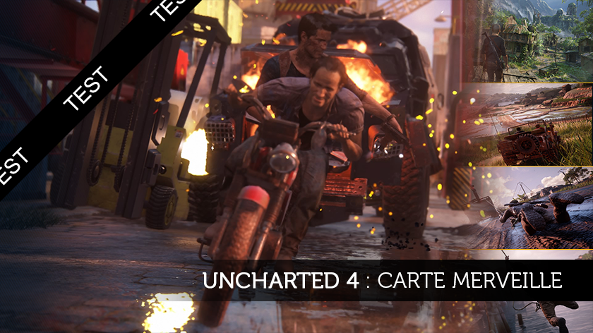 Uncharted 4 : carte merveille