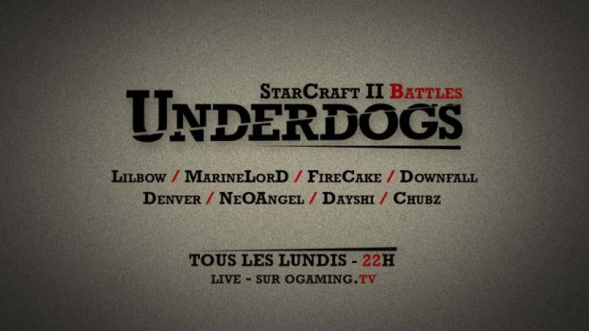 UnderDogs vs eStars : Lundi à 22H