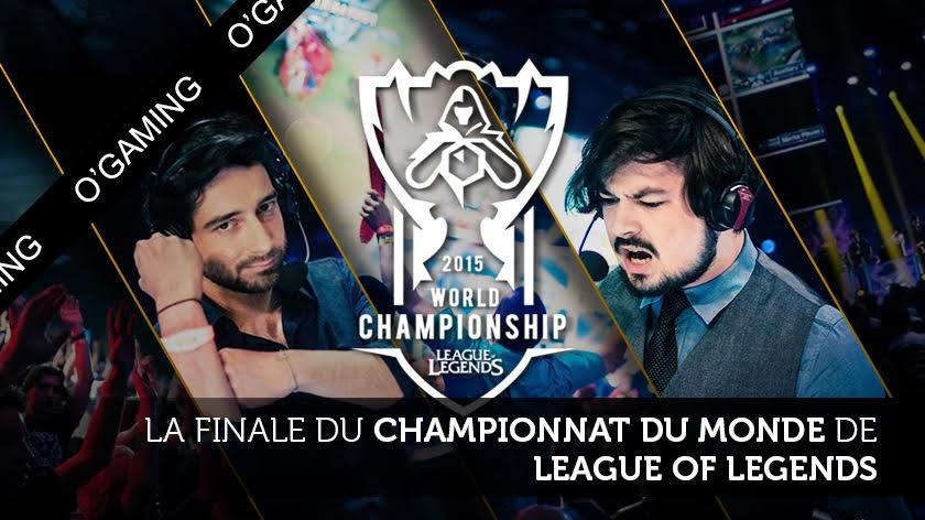 J-2 : Finale des Championnats du monde de League of Legends