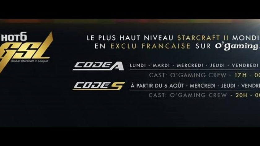 La GSL sur O'Gaming TV !