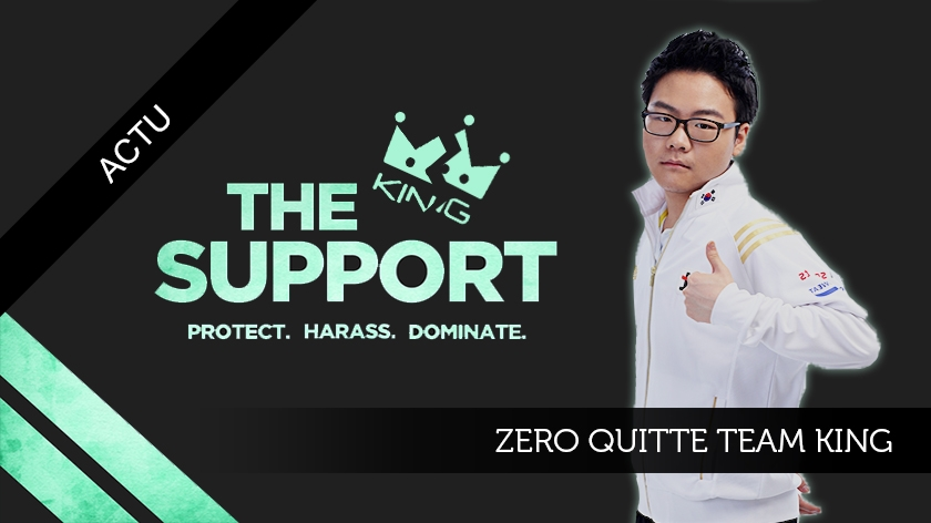 Zero quitte Team King